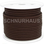 3mm PP 150daN PP-Schnur braun Seil Polypropylen ( brown cord, rope )