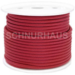 3mm PP 150daN PP-Schnur weinrot Seil Polypropylen ( wine red cord, rope )